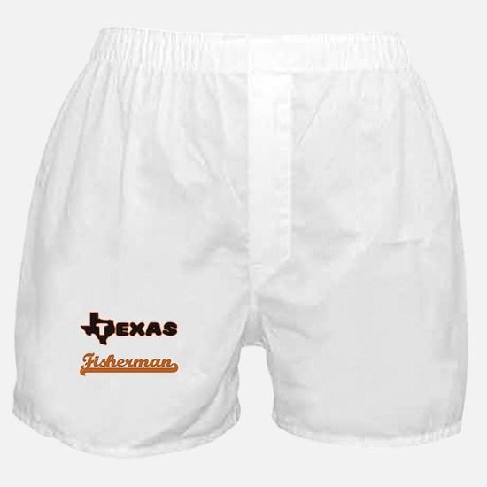 Texas Fisherman Boxer Shorts
