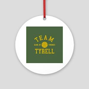 GOT Team Tyrell Round Ornament