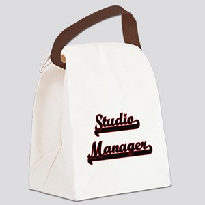Studio Manager Classic Job Design Canvas Lunch Bag