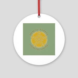 GOT Tyrell Rose Round Ornament