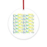 Trevally Pattern 1 Ornament (Round)