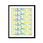 Trevally Pattern 1 Framed Panel Print