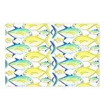 Trevally Pattern 1 Postcards (Package of 8)
