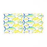 Trevally Pattern 1 Aluminum License Plate
