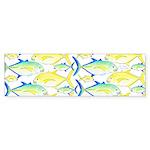 Trevally Pattern 1 Bumper Sticker