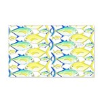 Trevally Pattern 1 Wall Decal