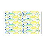 Trevally Pattern 1 Car Magnet 20 x 12