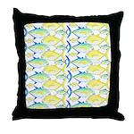 Trevally Pattern 1 Throw Pillow