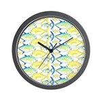 Trevally Pattern 1 Wall Clock