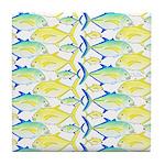 Trevally Pattern 1 Tile Coaster