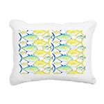 Trevally Pattern 1 Rectangular Canvas Pillow