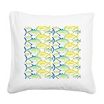 Trevally Pattern 1 Square Canvas Pillow