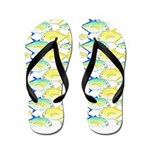 Trevally Pattern 1 Flip Flops