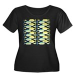 Trevally Pattern 1 Plus Size T-Shirt