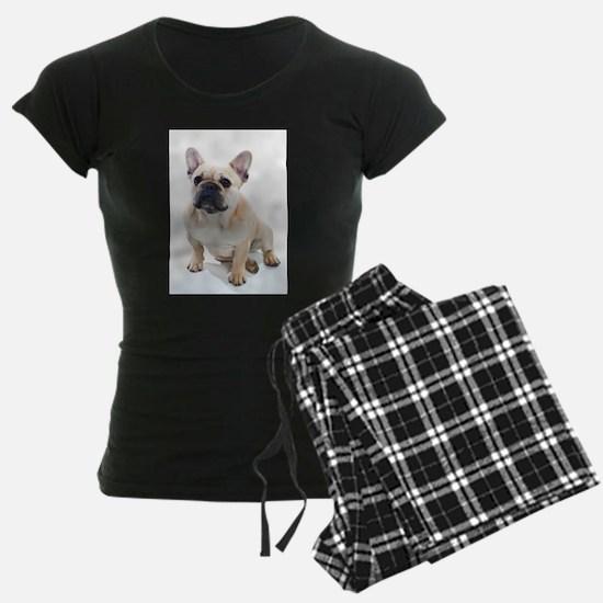 French Bulldog Sitting Pajamas