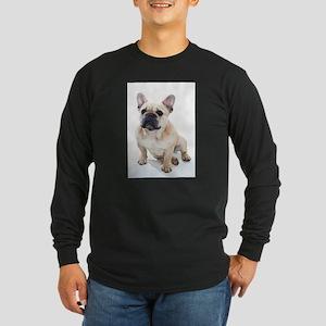 French Bulldog Sitting Long Sleeve T-Shirt