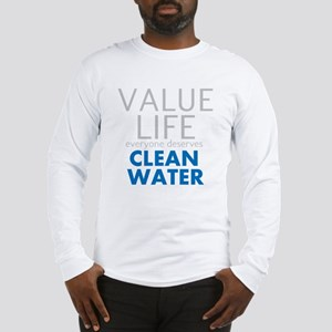 Value Life - Clean Water Long Sleeve T-Shirt