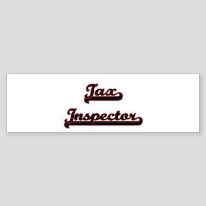 Tax Inspector Classic Job Design Bumper Sticker