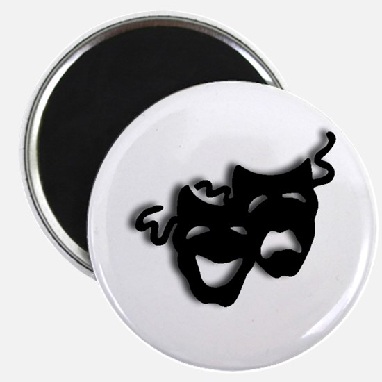 Comedy and Tragedy Theater Masks Magnets