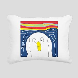 scream Rectangular Canvas Pillow