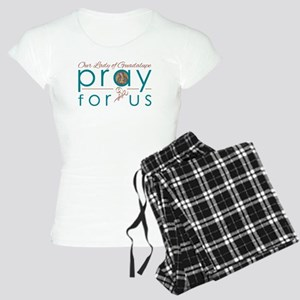 Our Lady of Guadalupe...Pra Women's Light Pajamas