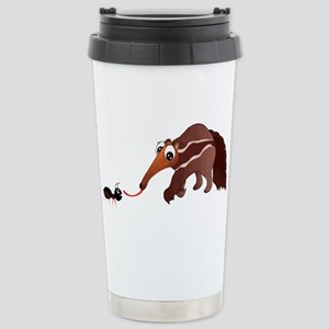 Anteater Meets His Lunc Stainless Steel Travel Mug