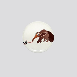 Anteater Meets His Lunch Mini Button