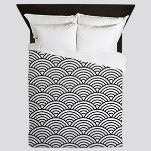 Scallop Refined Queen Duvet