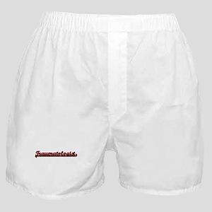 Traumatologist Classic Job Design Boxer Shorts