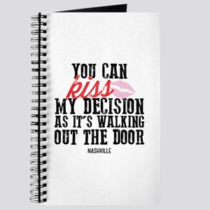 Nashville: Kiss My Decision Journal