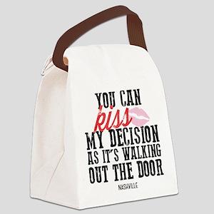 Nashville: Kiss My Decision Canvas Lunch Bag