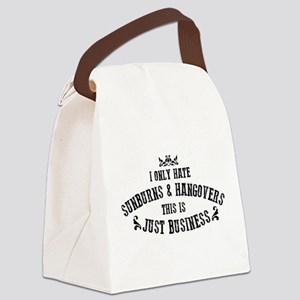 Nashville: Sunburns and Hangovers Canvas Lunch Bag