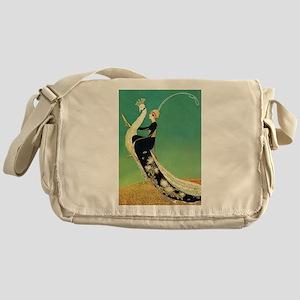VOGUE - Riding a Peacock Messenger Bag