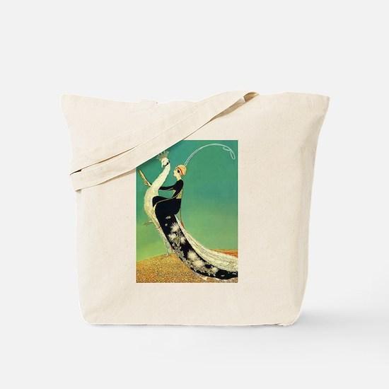 VOGUE - Riding a Peacock Tote Bag