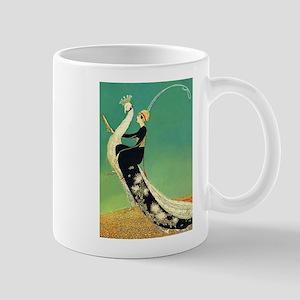 VOGUE - Riding a Peacock Mug