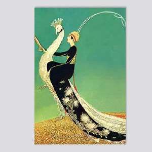 VOGUE - Riding a Peacock Postcards (Package of 8)