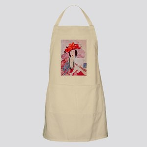 vogue - chic lady in a stylish Apron