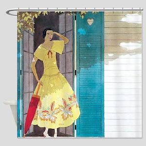 Vogue - Summer Breeze Shower Curtain