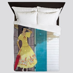 Vogue - Summer Breeze Queen Duvet