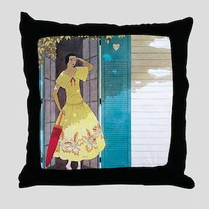 Vogue - Summer Breeze Throw Pillow