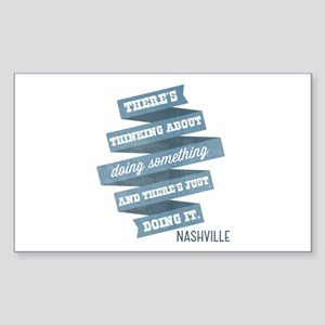 Nashville: Do Something Sticker (Rectangle)