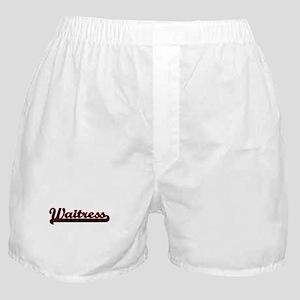 Waitress Classic Job Design Boxer Shorts