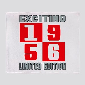 Exciting 1956 Limited Edition Throw Blanket