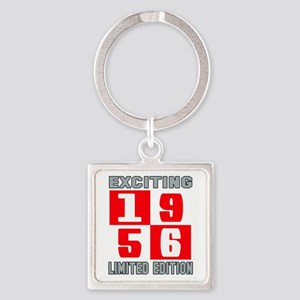 Exciting 1956 Limited Edition Square Keychain