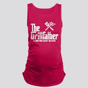The Grillfather Maternity Tank Top