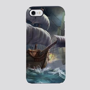 Battle Between Ships iPhone 7 Tough Case