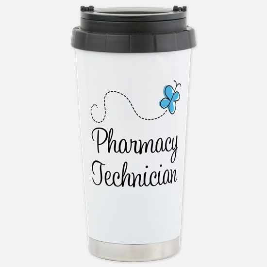 Pharmacy Technician Stainless Steel Travel Mug