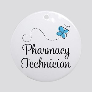 Pharmacy Technician Ornament (Round)