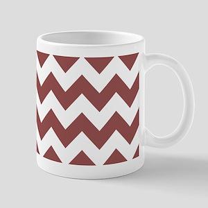 Marsala Chevrons Mugs