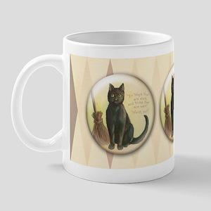 TLK003 Halloween Cat Mug